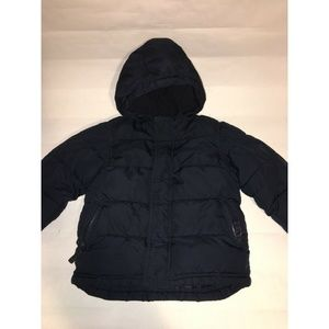 Old Navy Blue Frost Free Coat Puffer Jacket 3T